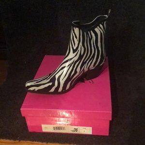 FOXY Zebra Rain boots